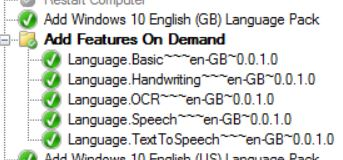 1809 Language Features – Install Issue & Resolution – The